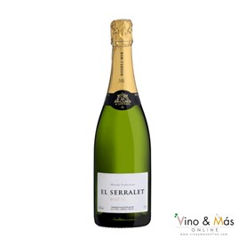 El Serralet Brut Nature 2017 75 cl